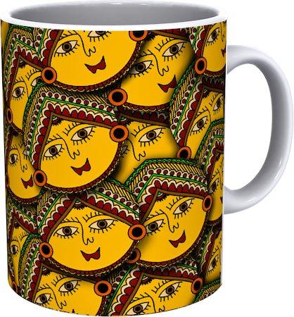 Kolorobia Classic Madhubani Mug