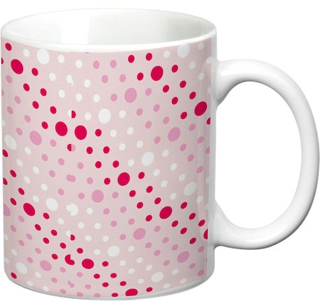 Prithish Abstract Design 8 White Mug