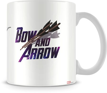 Marvel The Sharp Shooting Avenger Ceramic Mug
