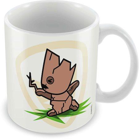 Marvel Groot - Kawaii Art Ceramic Mug