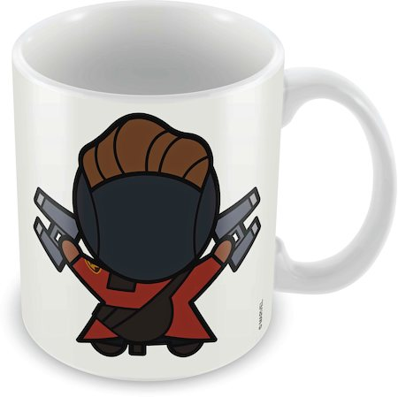 Marvel Star Lord - Kawaii Ceramic Mug