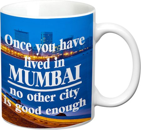 Prithish Mumbai City White Mug