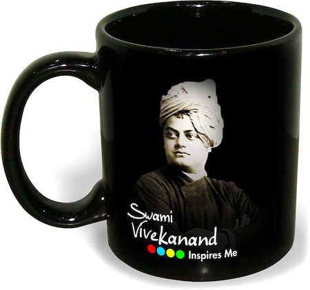 Hot Muggs Swami Vivekanand - Take up an idea, Mug