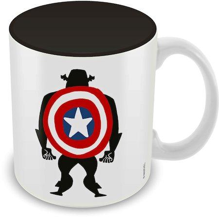 Marvel Captain America Class Ceramic Mug