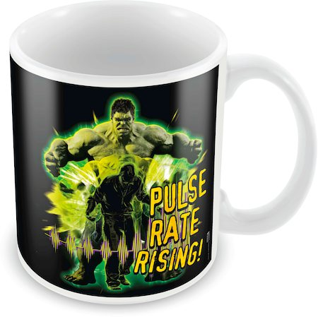 Marvel Hulk - Pulse Rate Rising Ceramic Mug