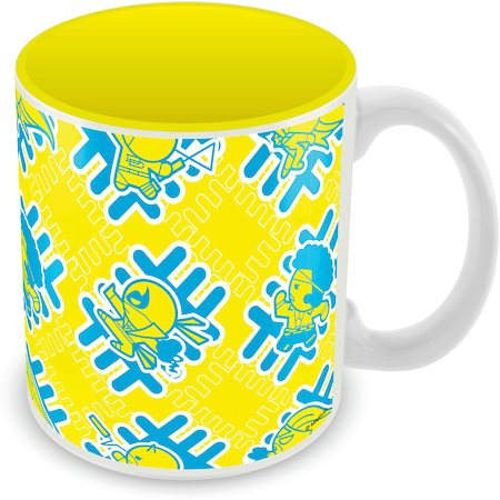 Marvel Kawaii - Yellow Ceramic Mug