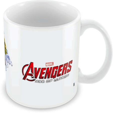 Marvel Iron Man - Hulk - Avengers Ceramic Mug