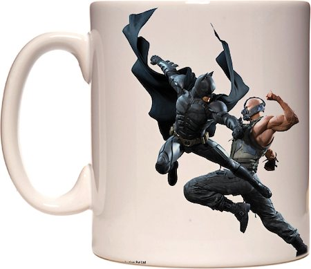 Warner Brothers Batman Takes on Bane Mug
