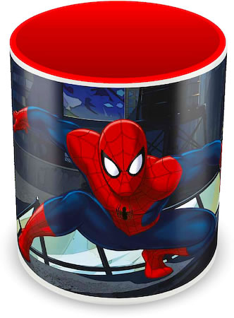 Marvel Spider-Man in Action Ceramic Mug