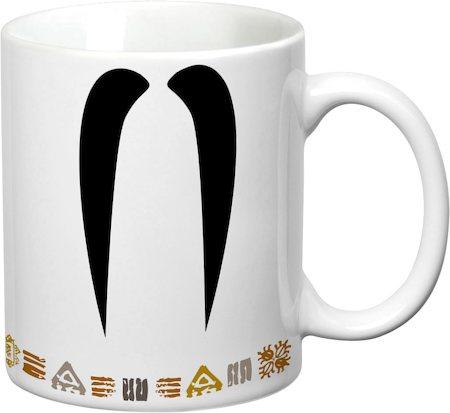 Prithish Mr Long Mooch White Mug