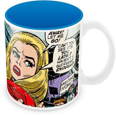 Marvel Comics Let Me Go Ceramic Mug