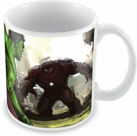 Marvel Hulk - Hulk Buster Graphic Ceramic Mug