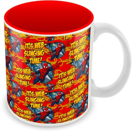 Marvel Spider-Man Web Slinging Time Ceramic Mug