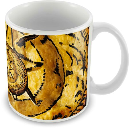 Marvel Captain America - 75 Years Logo Art Ceramic Mug