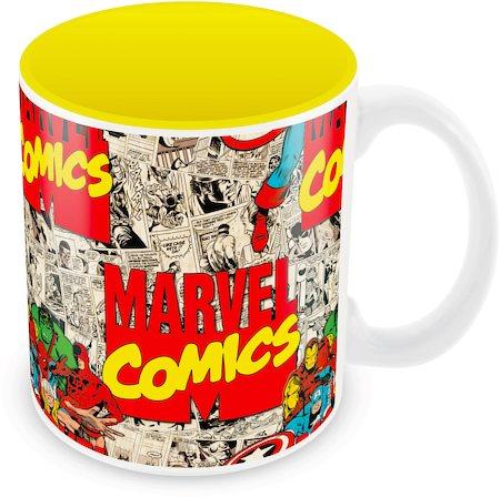 Marvel Comics Design Ceramic Mug