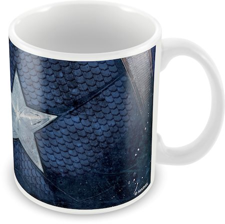 Marvel Civil War - Captain Star Ceramic Mug