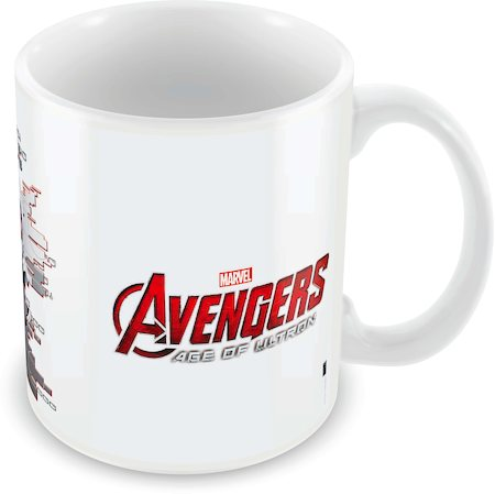 Marvel Ultron - the Avengers Ceramic Mug