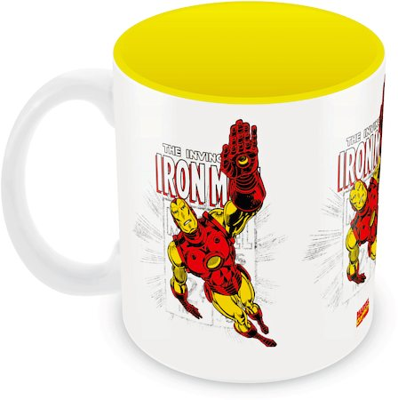 Marvel Comics Iron Man invincible Ceramic Mug