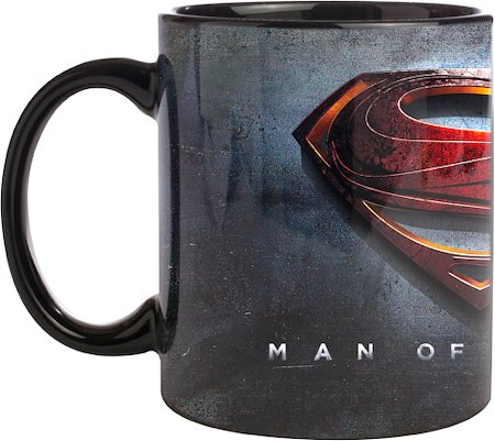 Warner Brothers Superman - Man of Steel Movie Logo Mug