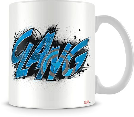 Marvel Captain America - Clang Ceramic Mug