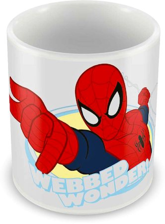 Marvel Spider-Man Webbed Wonder Ceramic Mug