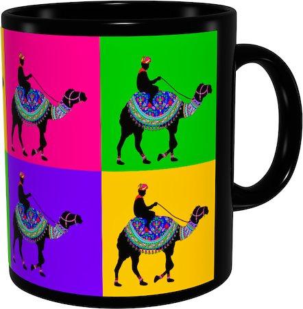 Kolorobia Charismatic Camel Classic Black Mug