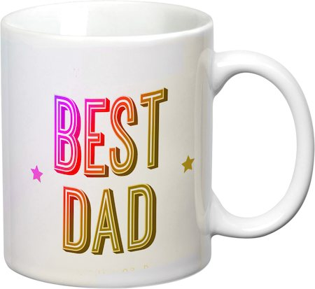 Prithish Best Dad White Mug