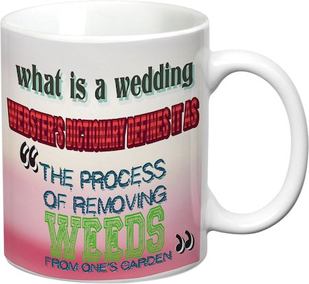 Prithish What Is A Wedding White Mug