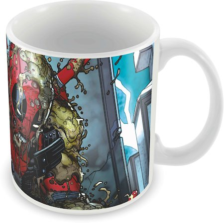 Marvel Skilled Deadpool Ceramic Mug