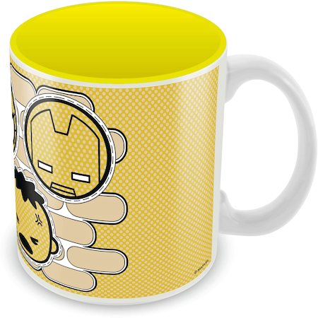 Marvel Kawaii Art - Avengers Ceramic Mug