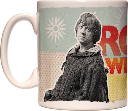 Warner Brothers Harry Potter and The Deathly Hallows - Ron Mug