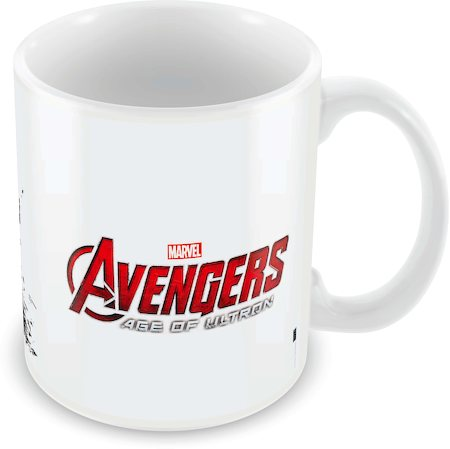 Marvel Brawn and Brains - Avengers Ceramic Mug