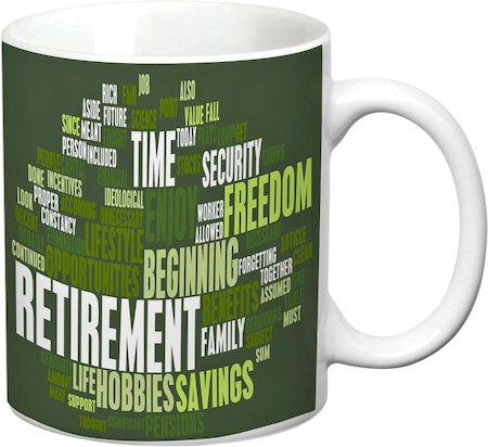 Prithish Retirement White Mug