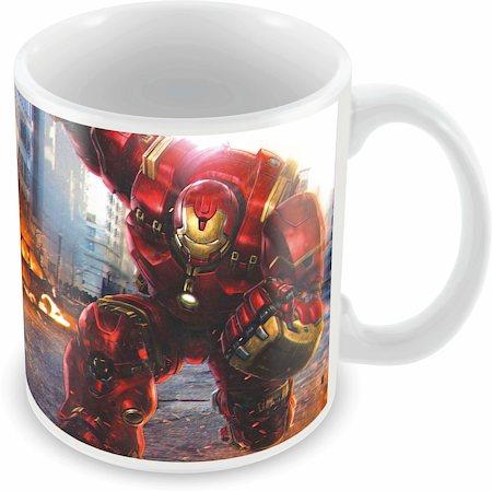 Marvel Hulk Buster Ceramic Mug