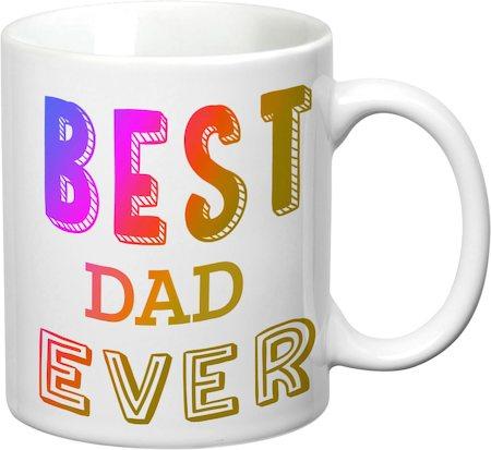 Prithish Best Dad Ever White Mug