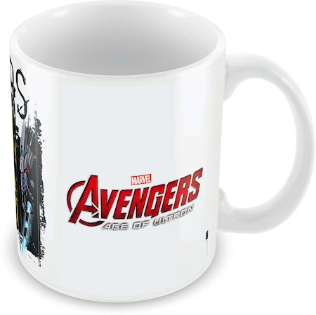 Marvel The Avengers Art Ceramic Mug