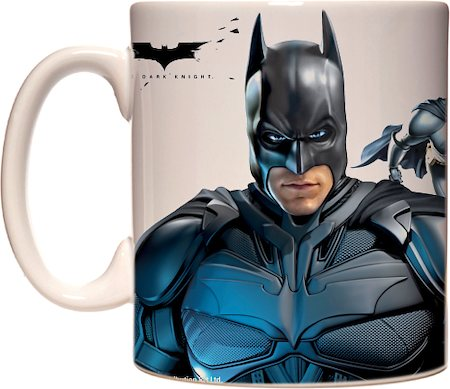 Warner Brothers Batman Gotham's Hero Mug