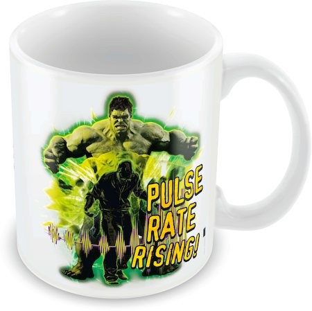 Marvel Pulse Rate Rising - Hulk Ceramic Mug