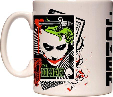 Warner Brothers Joker 'Let's Put a Smile on That Face' Mug