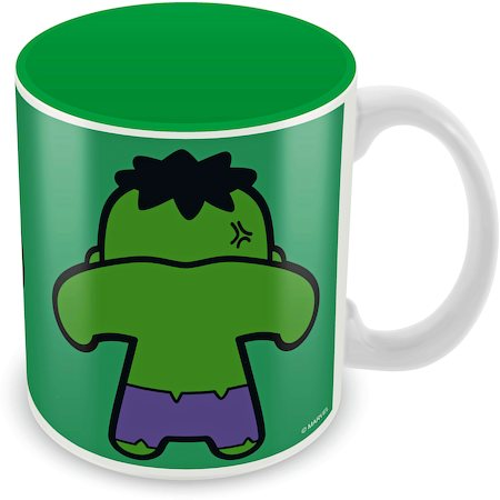 Marvel Hulk - Kawaii Art Ceramic Mug