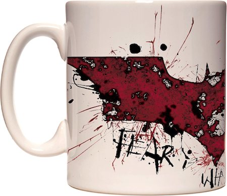 Warner Brothers Fear is Why You Fail - The Dark Knight Rises Mug