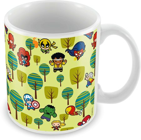 Marvel Avengers - Kawaii Ceramic Mug