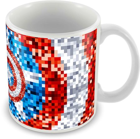 Marvel 75 Years Captain America Ceramic Mug