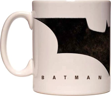 Warner Brothers Batman Begins Logo Mug