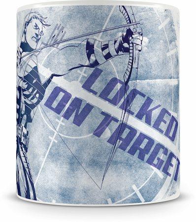 Marvel Hawkeye - Locked On Target Ceramic Mug