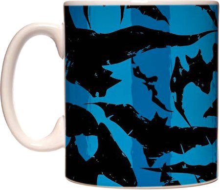Warner Brothers Batman Blue Mug