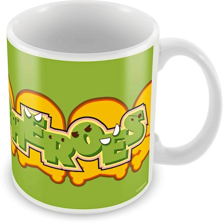 Marvel Kawaii - Superheroes Ceramic Mug