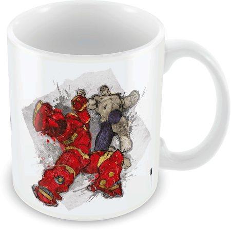 Marvel The Fight - Avengers Ceramic Mug
