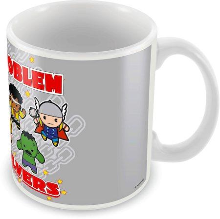 Marvel Kawaii - Problem Solvers Ceramic Mug
