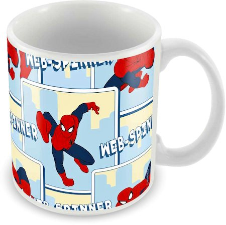 Marvel Spider-Man Web Spinner Ceramic Mug